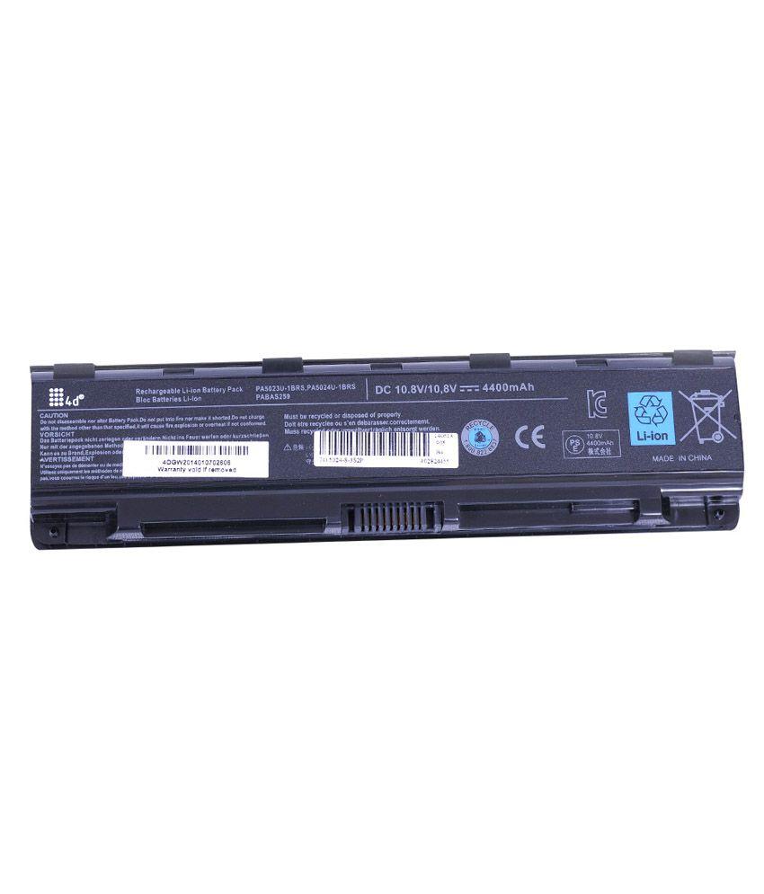 4D 4400 mAh Li-ion Laptop Battery for Toshiba C855-128