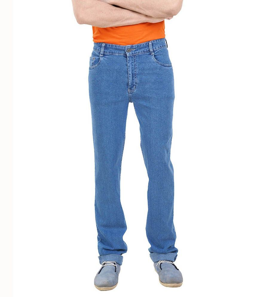 Lenox Blue Regular Fit Jeans