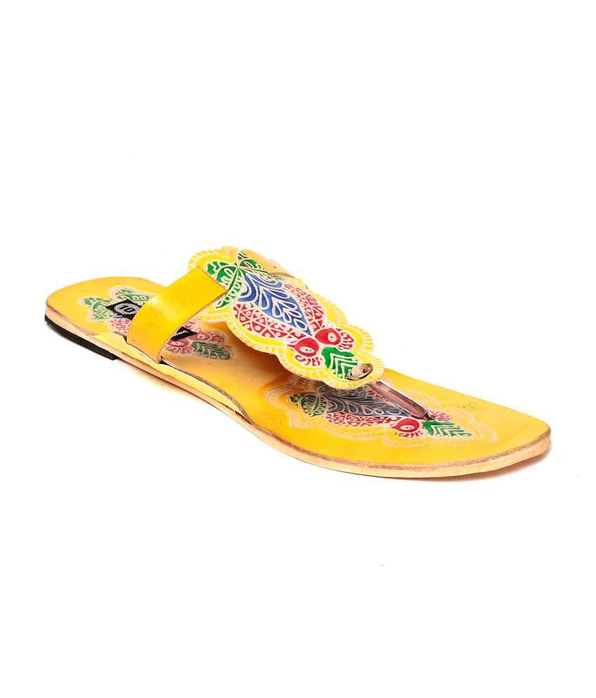 Ten Yellow Slippers