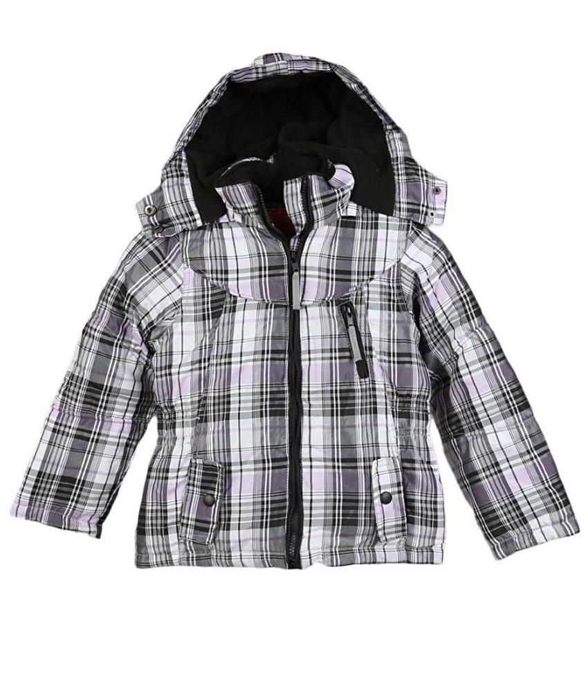 Lilliput Multicolour Polyster Full Sleeve Jacket With Hood