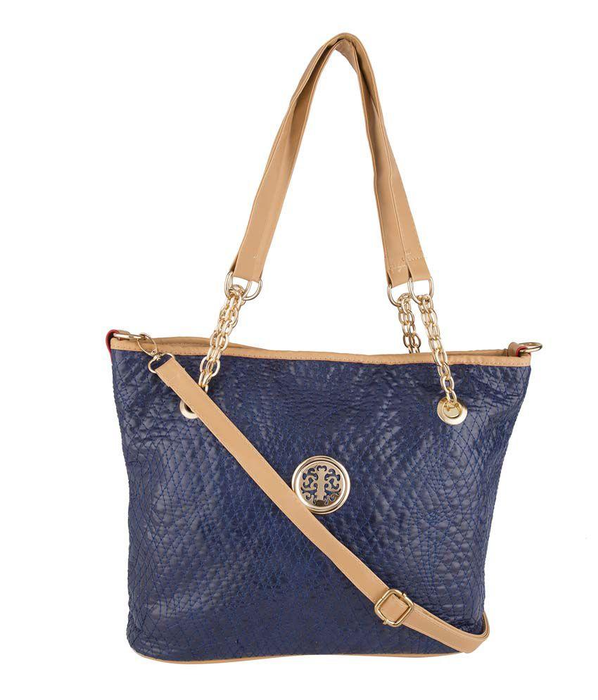 Basta Blue Shoulder Bags