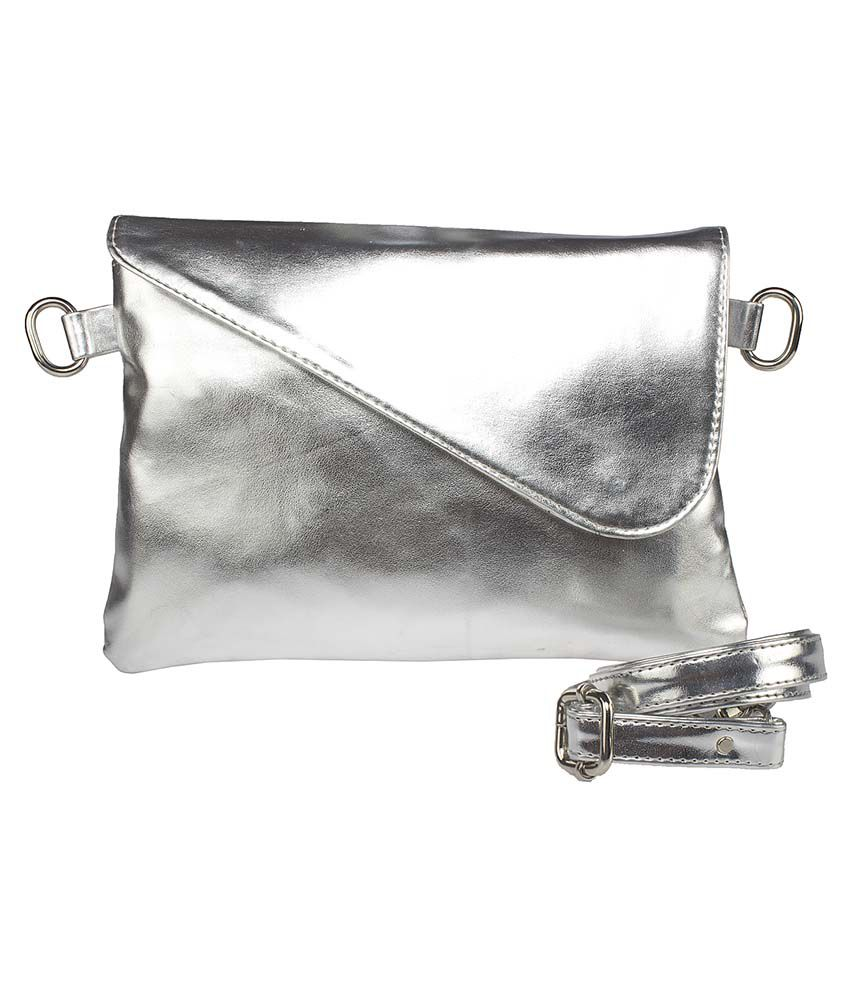 Buy Feliza Silver Sling Bag at Best Prices in India - Snapdeal
