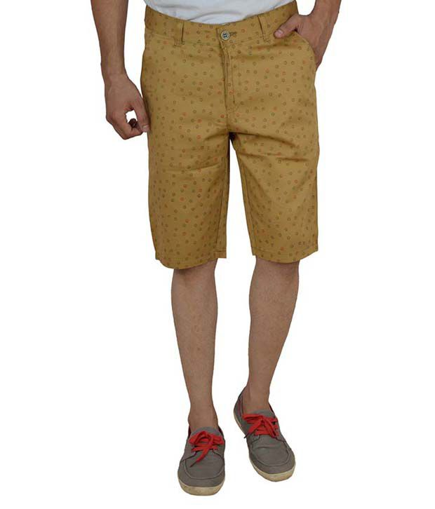 Studio Nexx Men's Cotton Printed Shorts