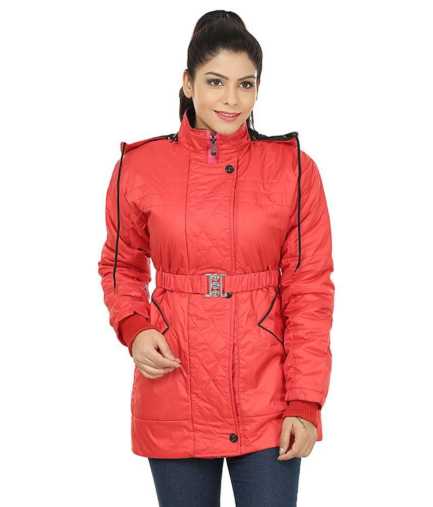 Red Nylon Jackets 101