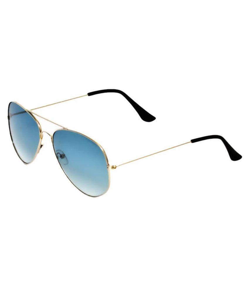 Davidson DN-019-LBLUE-ATR Aviator Sunglasses For Men