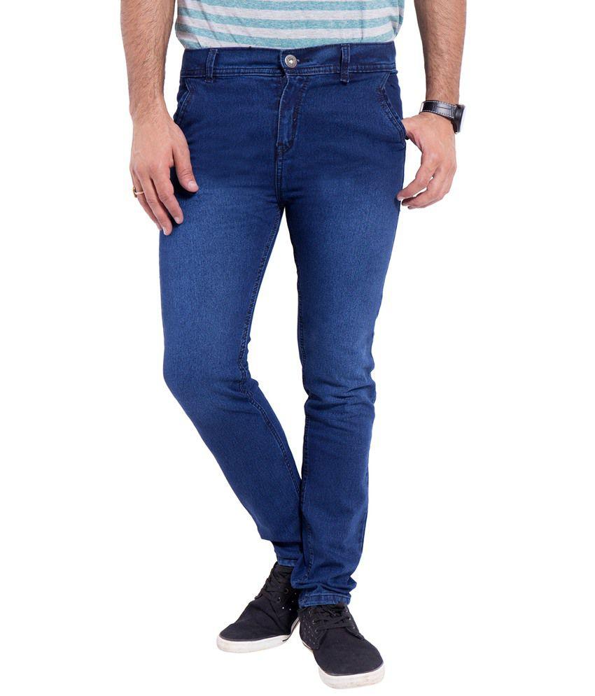 Srtc Blue Slim Fit Jeans