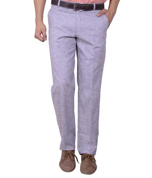 Studio Nexx Men's Formal Slim Fit Trouser