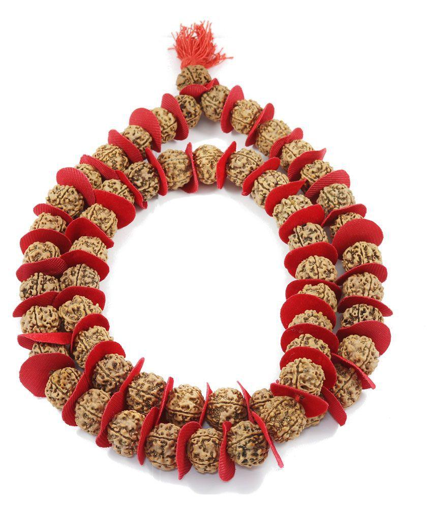 Rudraksha Kantha (Rudraksha Mala) 108 Beads For Wearing & Jaap Mala
