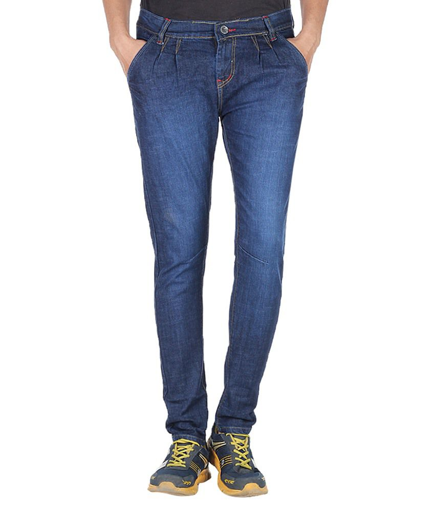11 Stitches Garments Blue Slim Fit Jeans