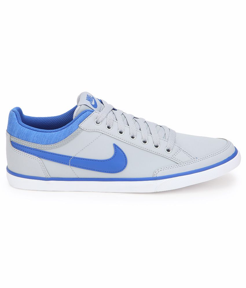 ... Nike Capri Iii Low Lthr Gray Casual Shoes ...