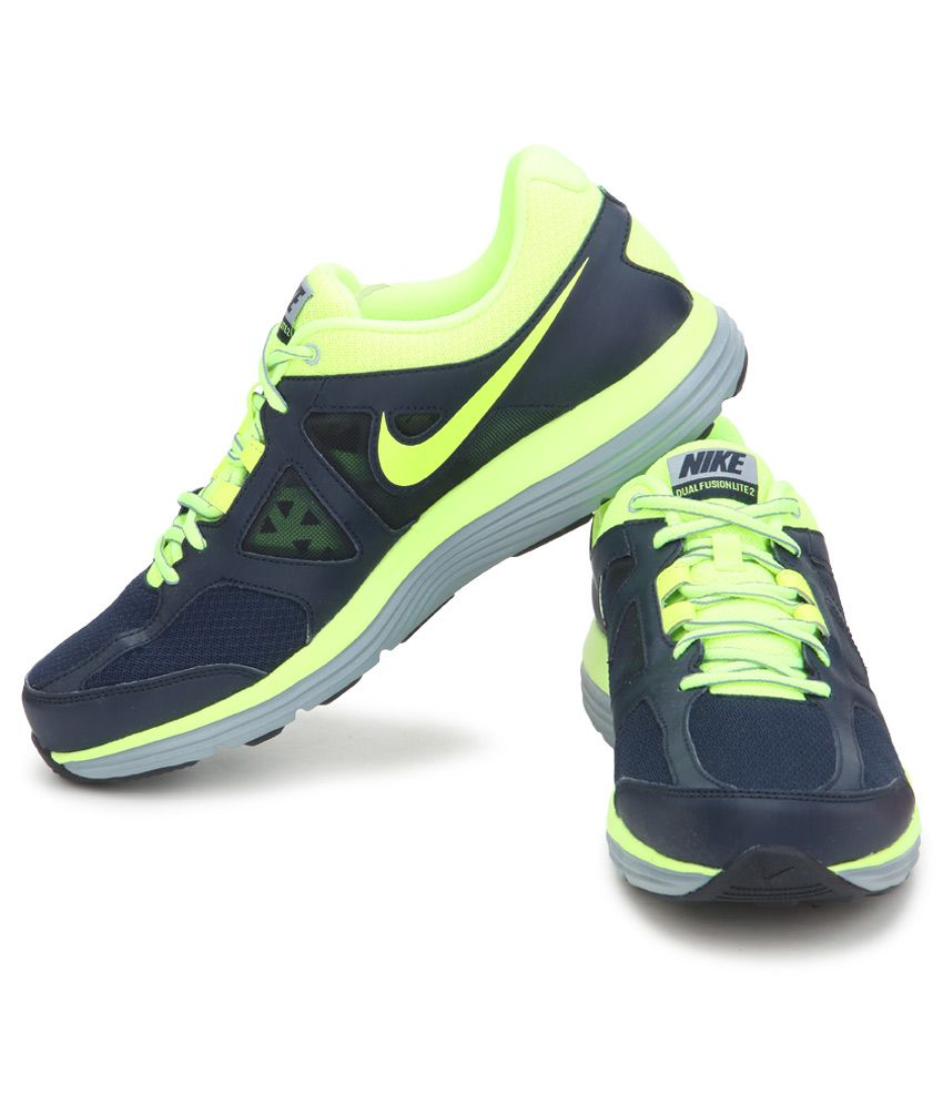 Nike Dual Fusion Lite 2 Msl Navy Sports Shoes