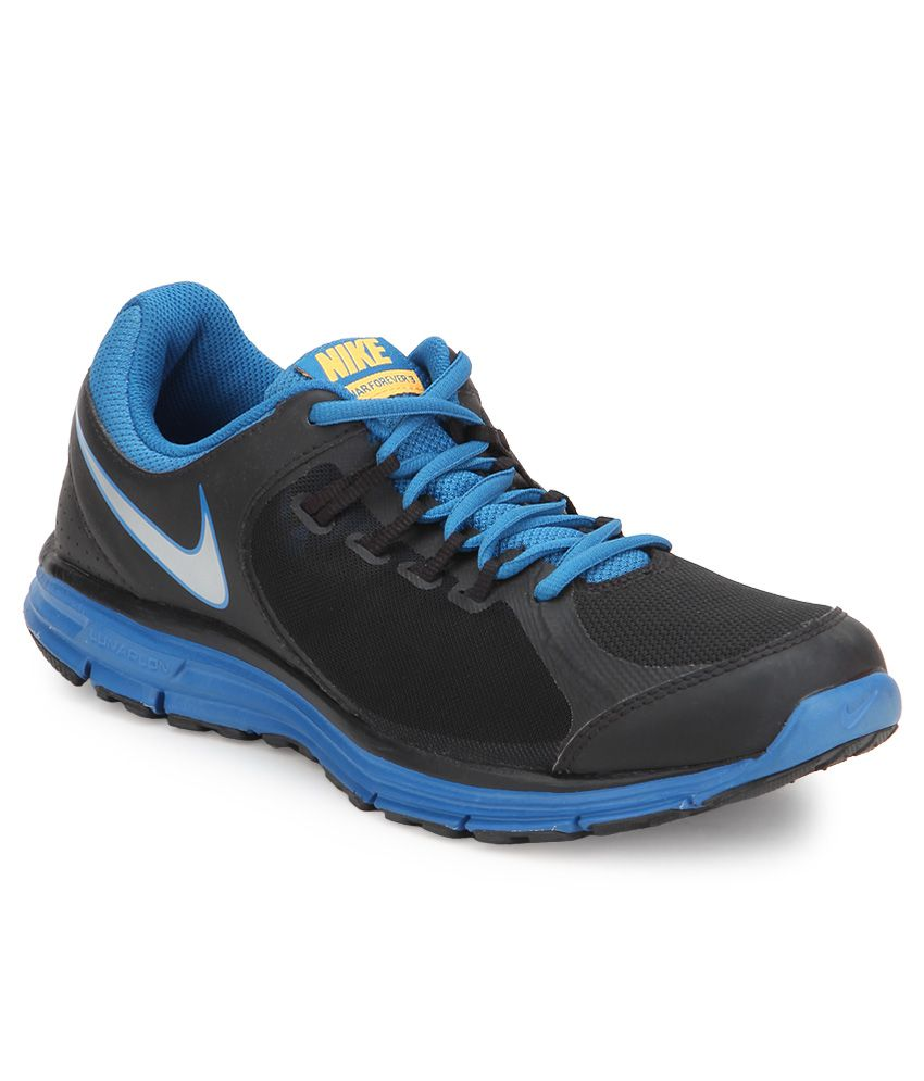 buy online 7b78a 3a98a Nike Lunar Forever 3 Msl Black Sports Shoes - Buy Nike Lunar Forever 3 Msl  Black Sports Shoes Online at Best Prices in India on Snapdeal