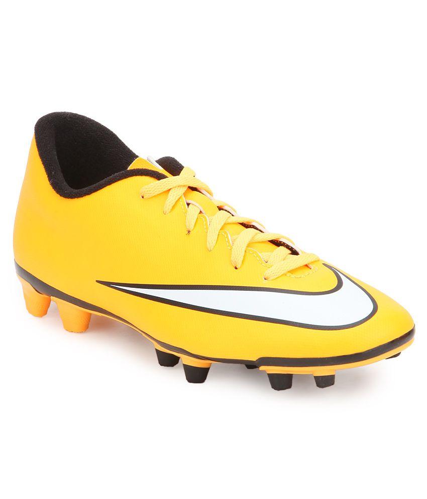 Nike Mercurial Vortex Ii Fg Orange Football Shoes ...