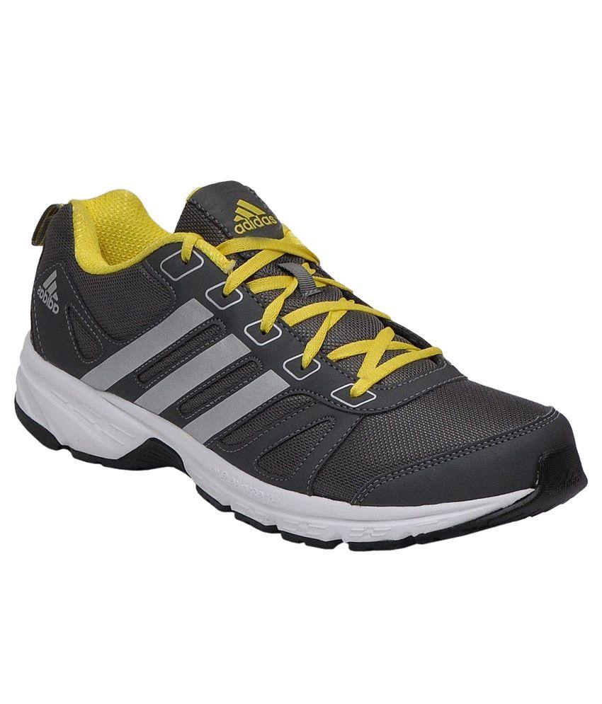 Adidas Grey Running Sport Shoes