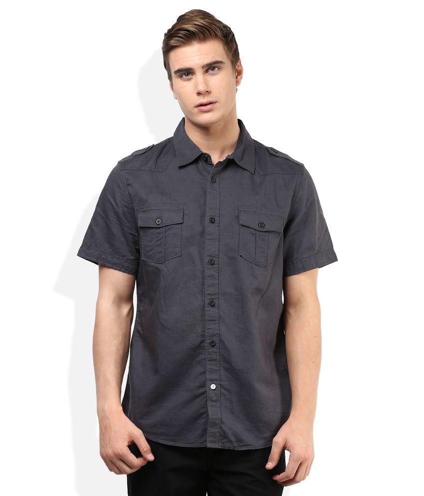 Puma Black Solid Shirt
