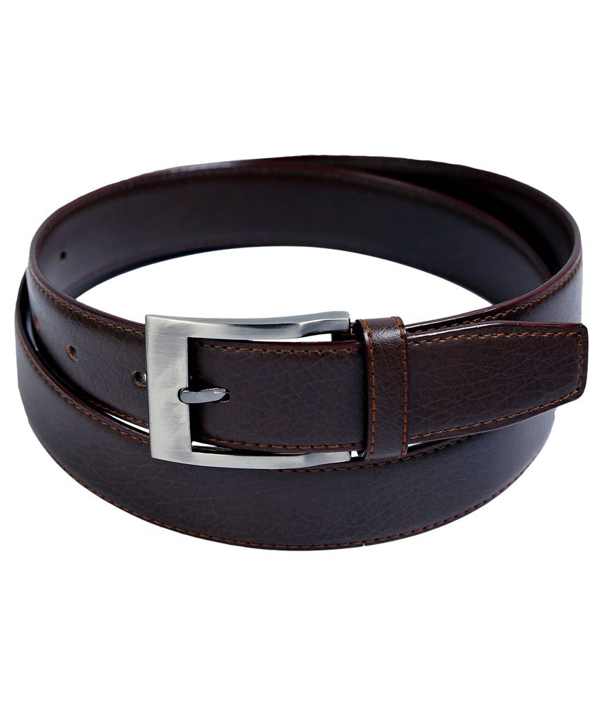 Contra Brown Formal Belt
