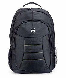 Black Polyester Laptop Bag Manufactured For Dell Laptops