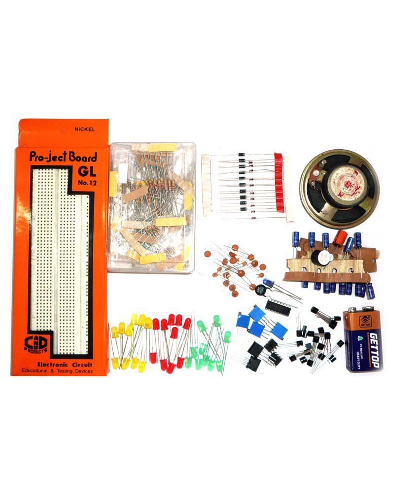 At electronics electronic diy kit with breadboard buy at for Diy electronic gadgets