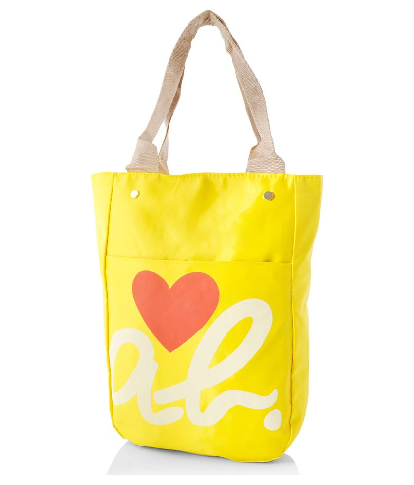Alonzo Yellow Tote Bag