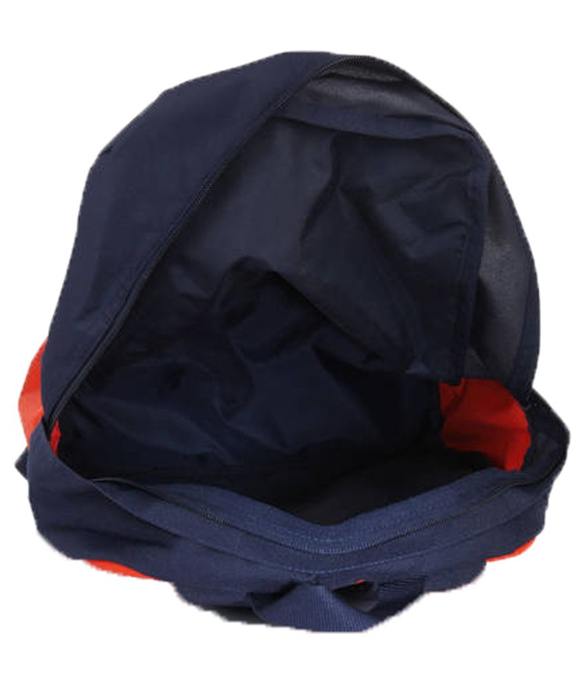 c6aade7c61 Adidas Versatile 3S Orange and Navy Blue Polyester Backpack - Buy ...