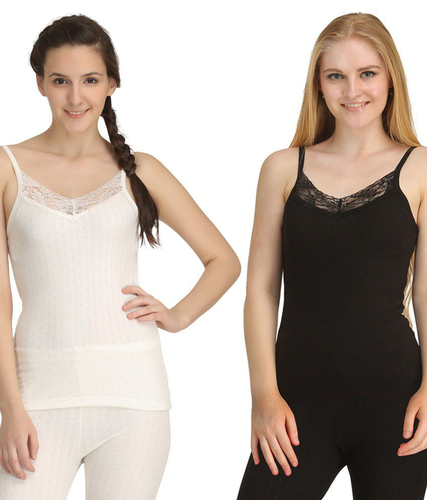 Kanvin Soft Camisole Thermal - 2 Pcs
