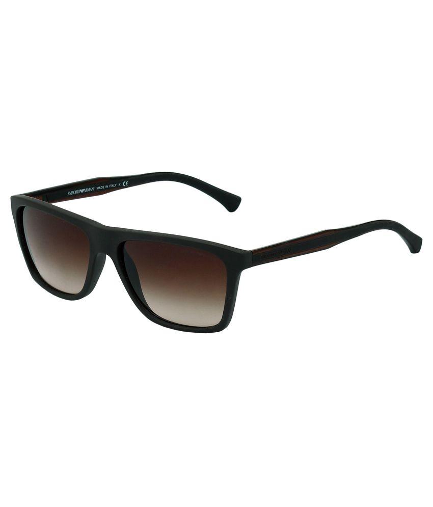 8a14e1d275a1 Emporio Armani Brown Wayfarer Sunglasses - Buy Emporio Armani Brown  Wayfarer Sunglasses Online at Low Price - Snapdeal