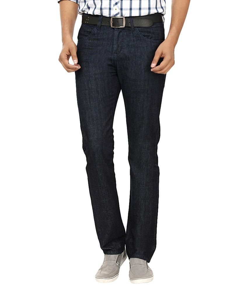 Fever Blue Regular Fit Jeans