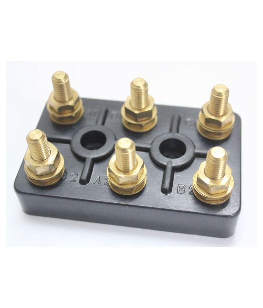Buy sew black motor terminal block for 15 to 25 hp motor for Electric motor terminal blocks
