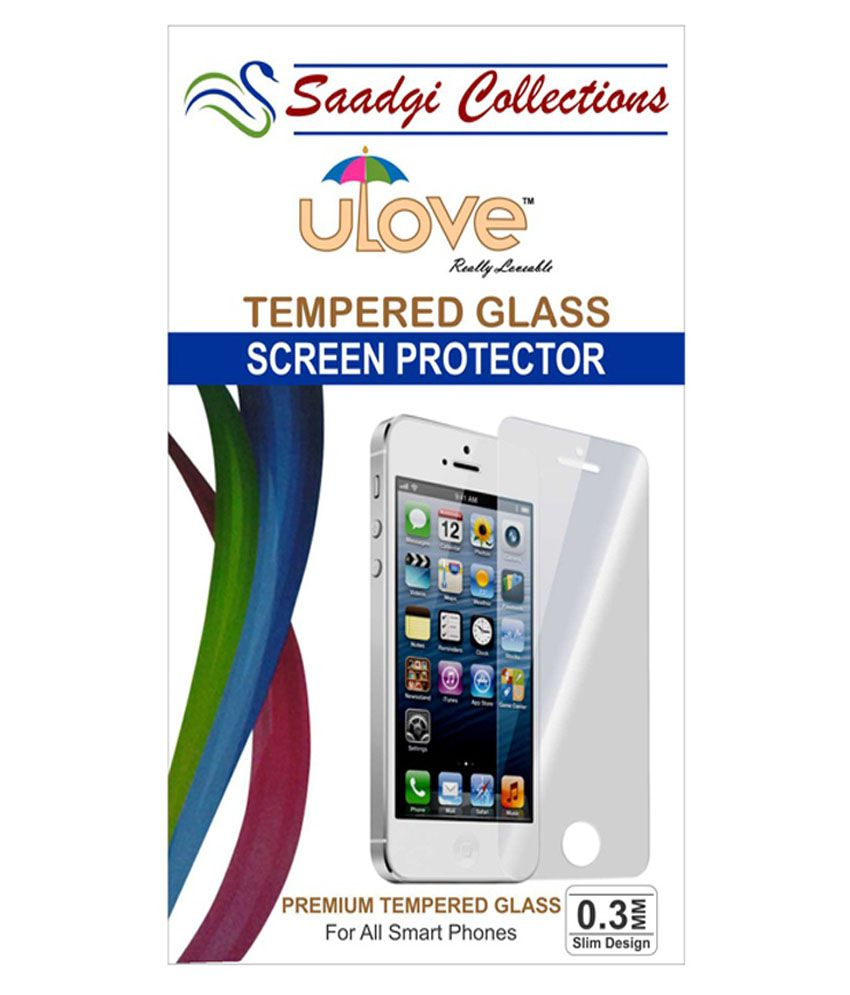 Gionee S5.1 Tempered Glass Screen Guard by Saadgi Collections