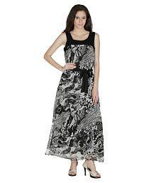 Mayra Polyester Maxi Dress