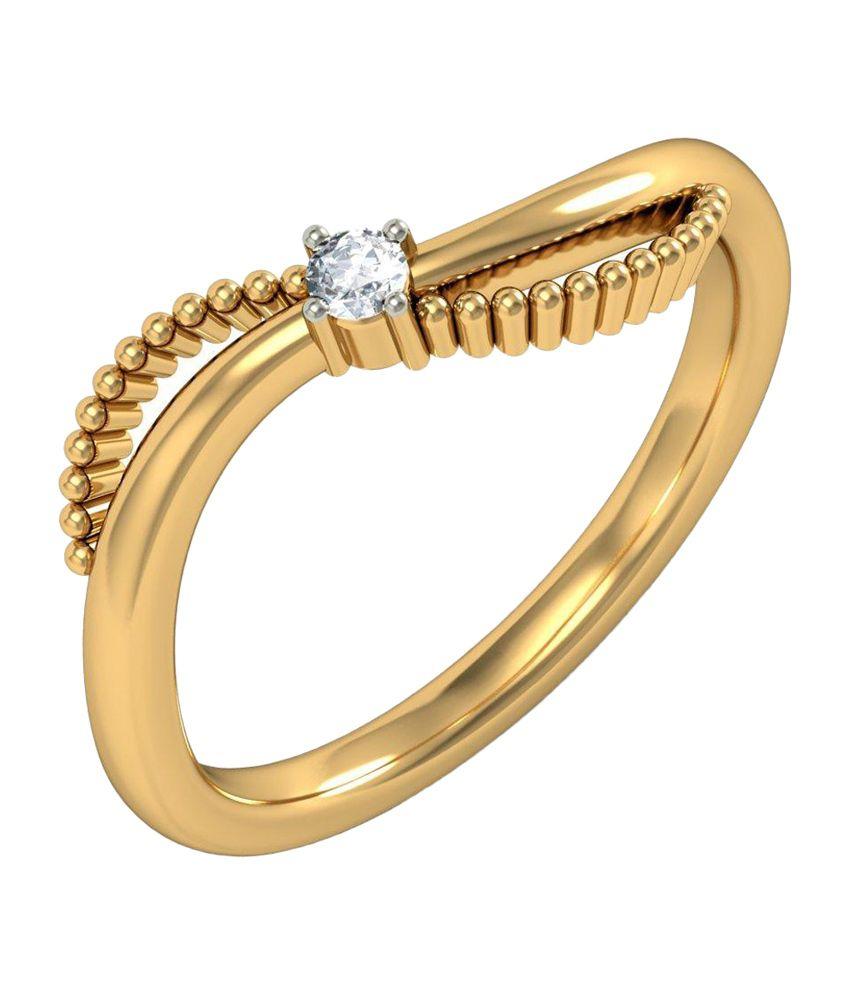BlueStone 14kt Yellow Gold Antonio Ring