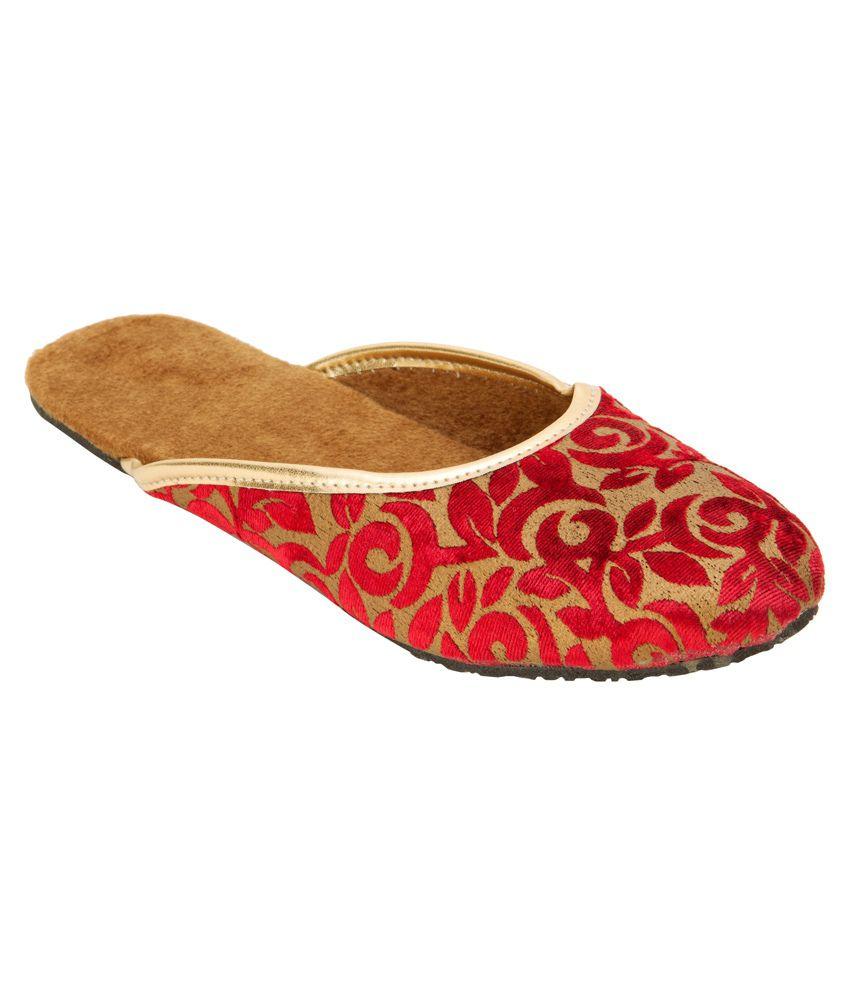 Footrendz Red Mojaris