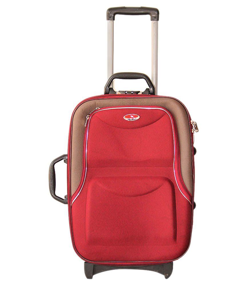 kashian samson 58 red cabin size suitcase buy kashian. Black Bedroom Furniture Sets. Home Design Ideas