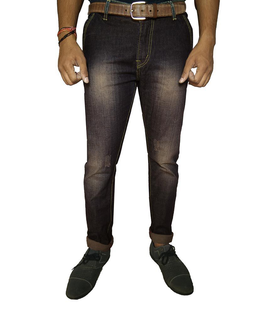 Oiin Black Slim Fit Jeans