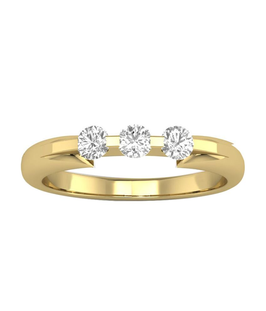 Caratify 14Kt Golden Ring