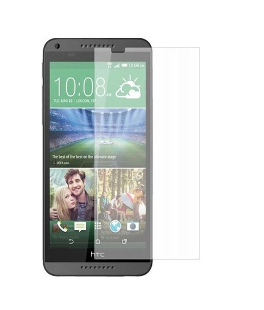 Plus Tempered Glass Screen Guard Protector for HTC Desire 816
