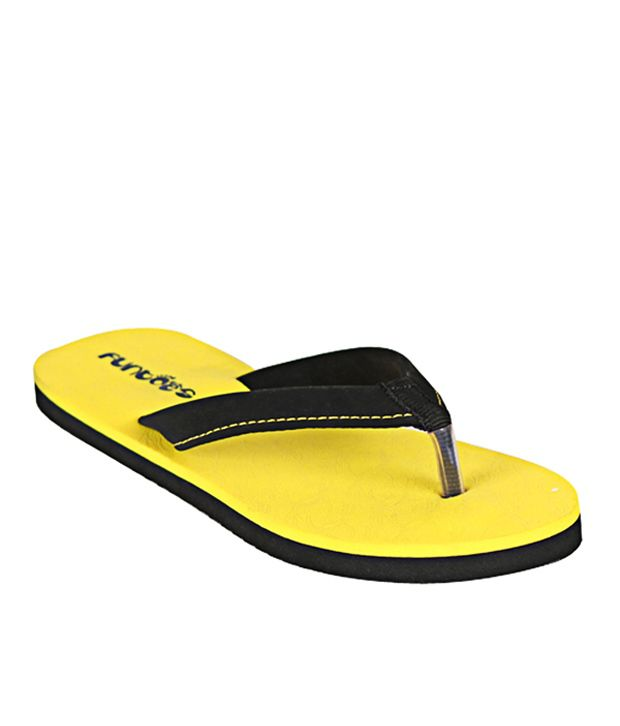 Funtoes Yellow Flipflop