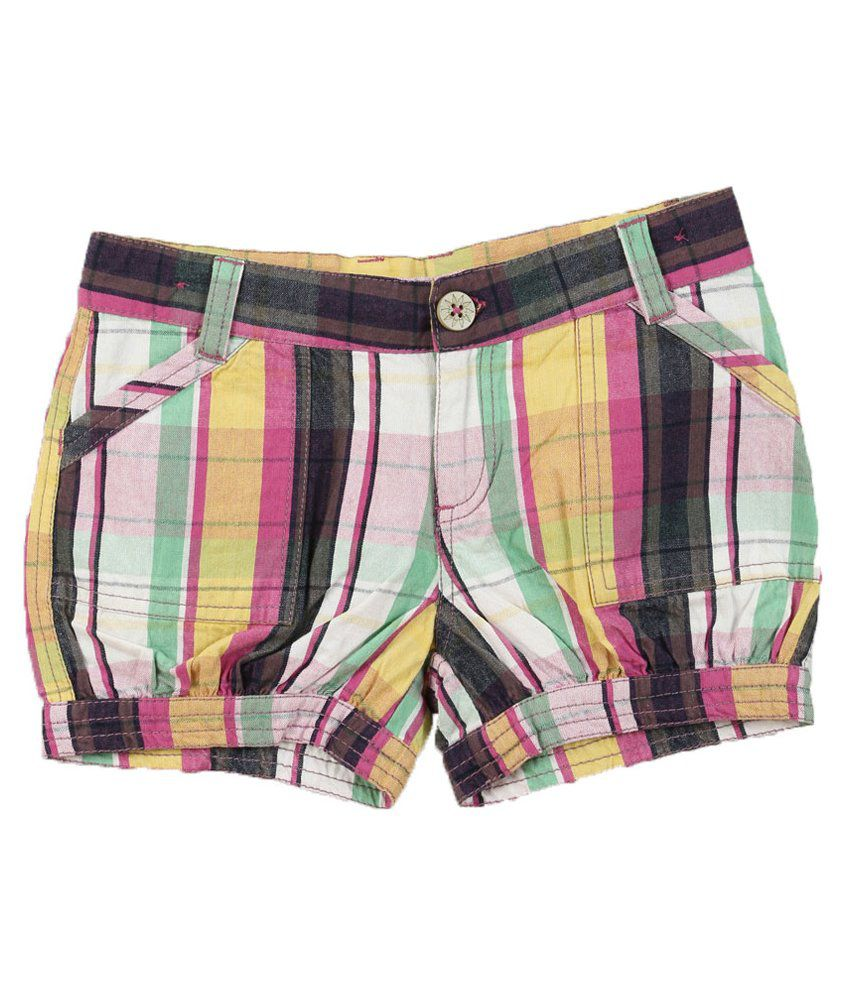 Lilliput Multicolour Cotton Shorts