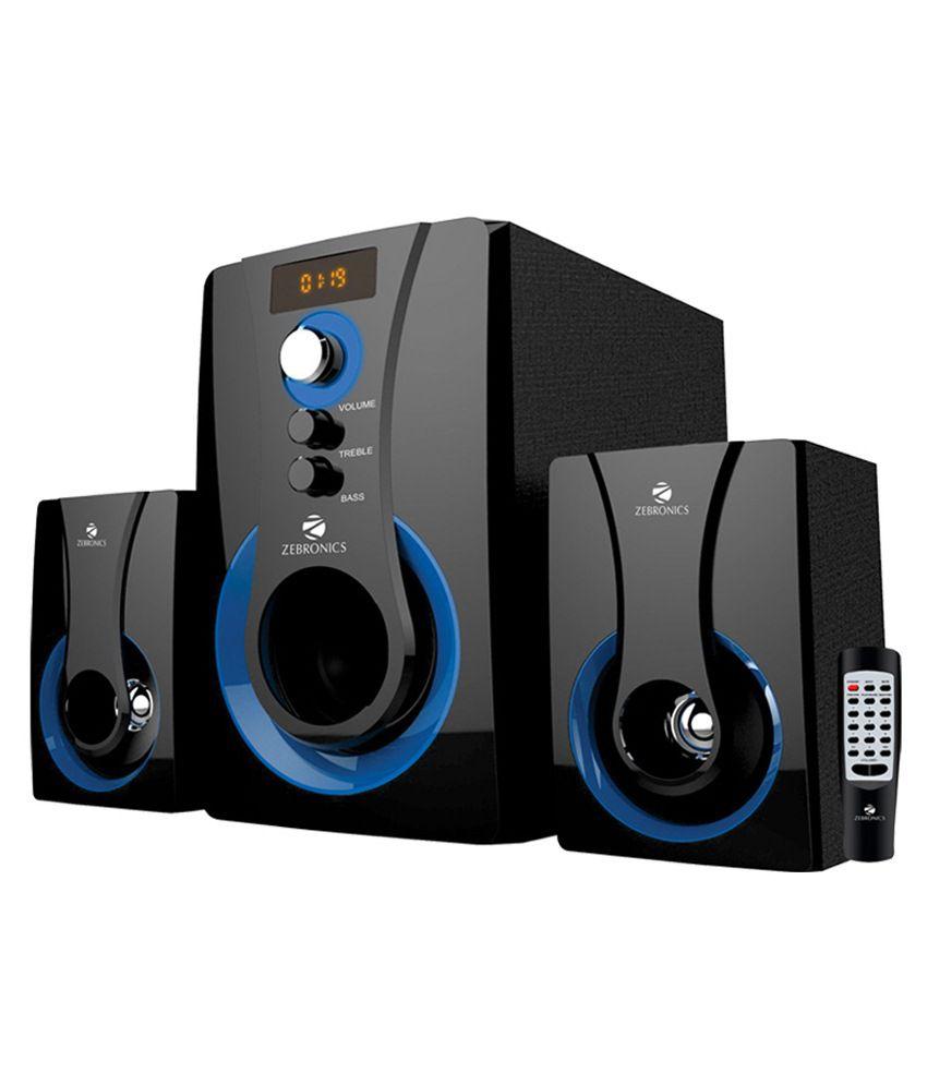 Zebronics Sw2490 Rucf Soundbar System