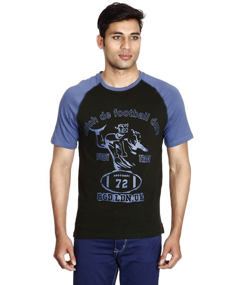 Mittal Clothing Company Silver Cotton T Shirt