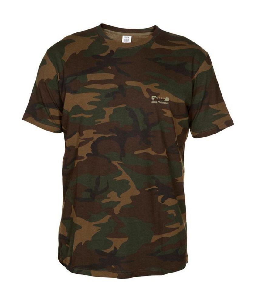 Solognac T-Shirt Steppe 100 Camo