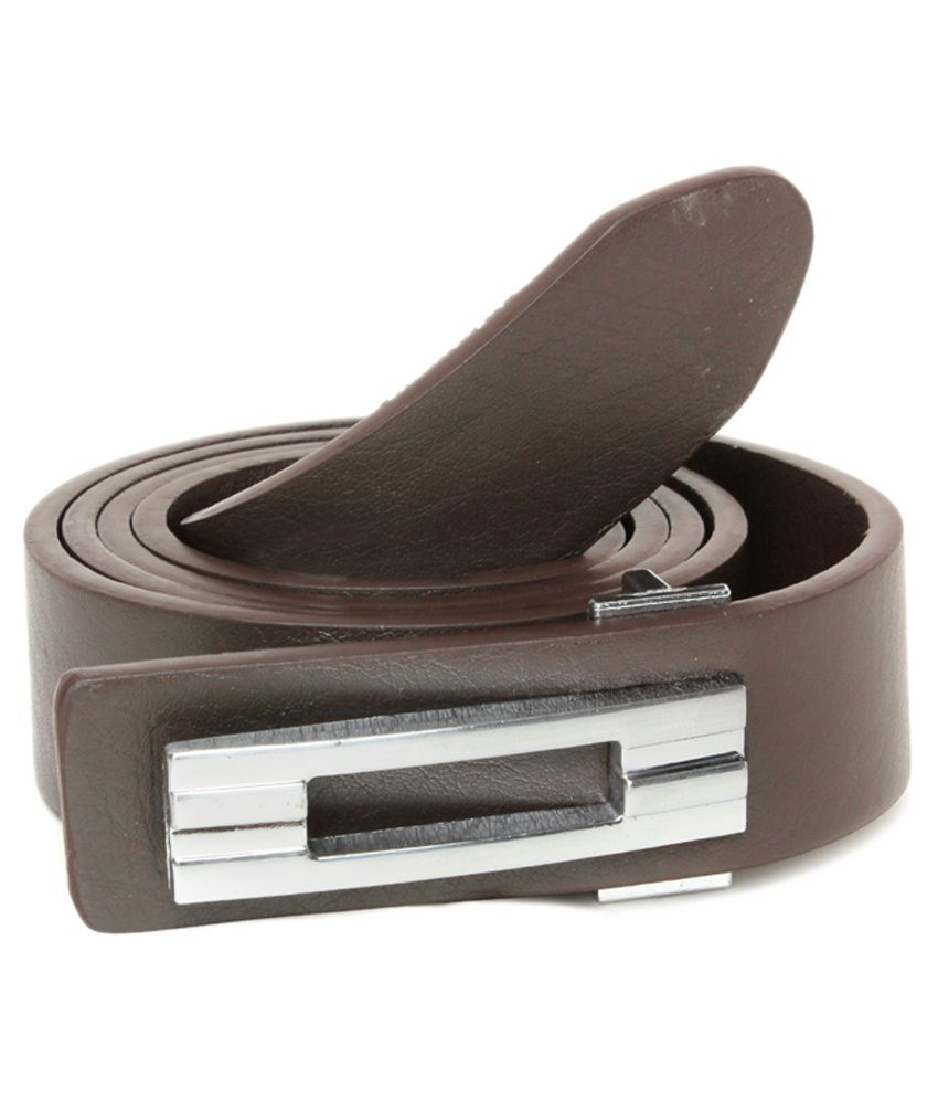 Brc Black Leather Casual Belts