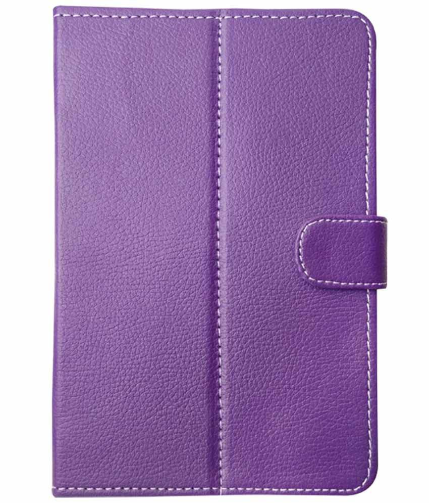 Fastway-Flip-Cover-For-Micromax-Canvas-Tabby-P469-Family-Tablet-Purple