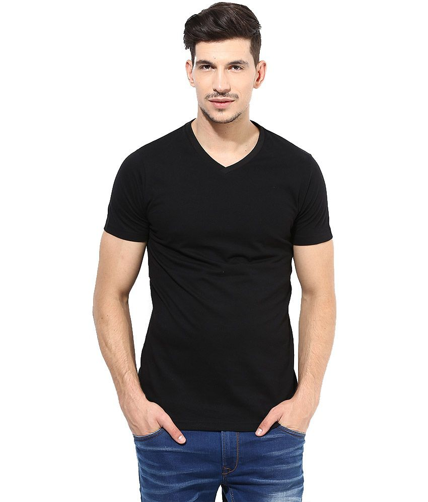 Starmark Black Cotton T-Shirt