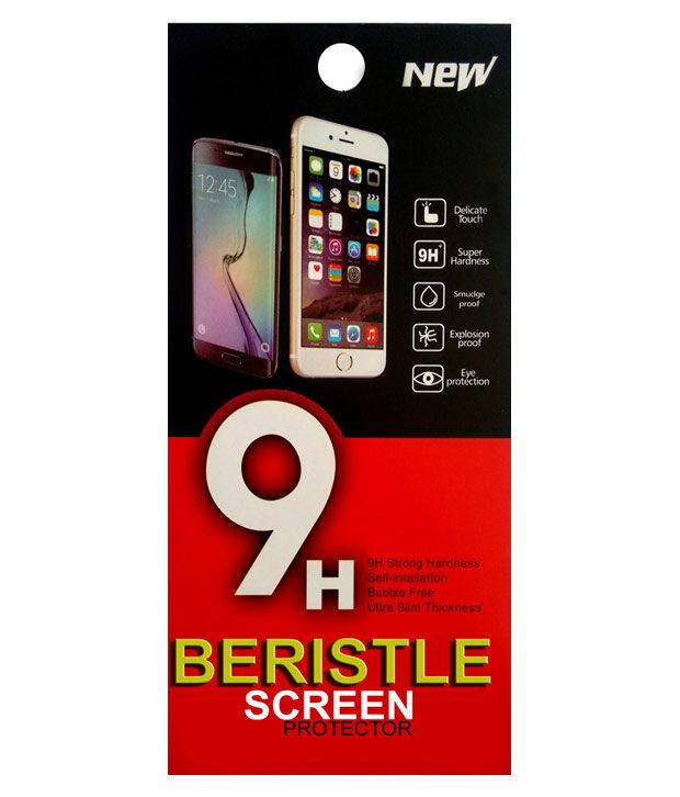 Bristle Tempered Glass Screen Guard For Samsung Galaxy Alpha