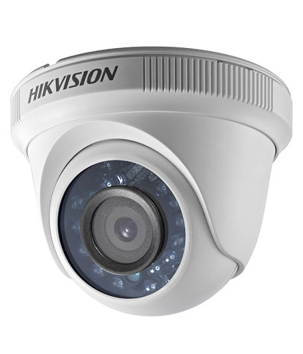 HIKVision DS-2CE56COT-IR HD CCTV Camera - White
