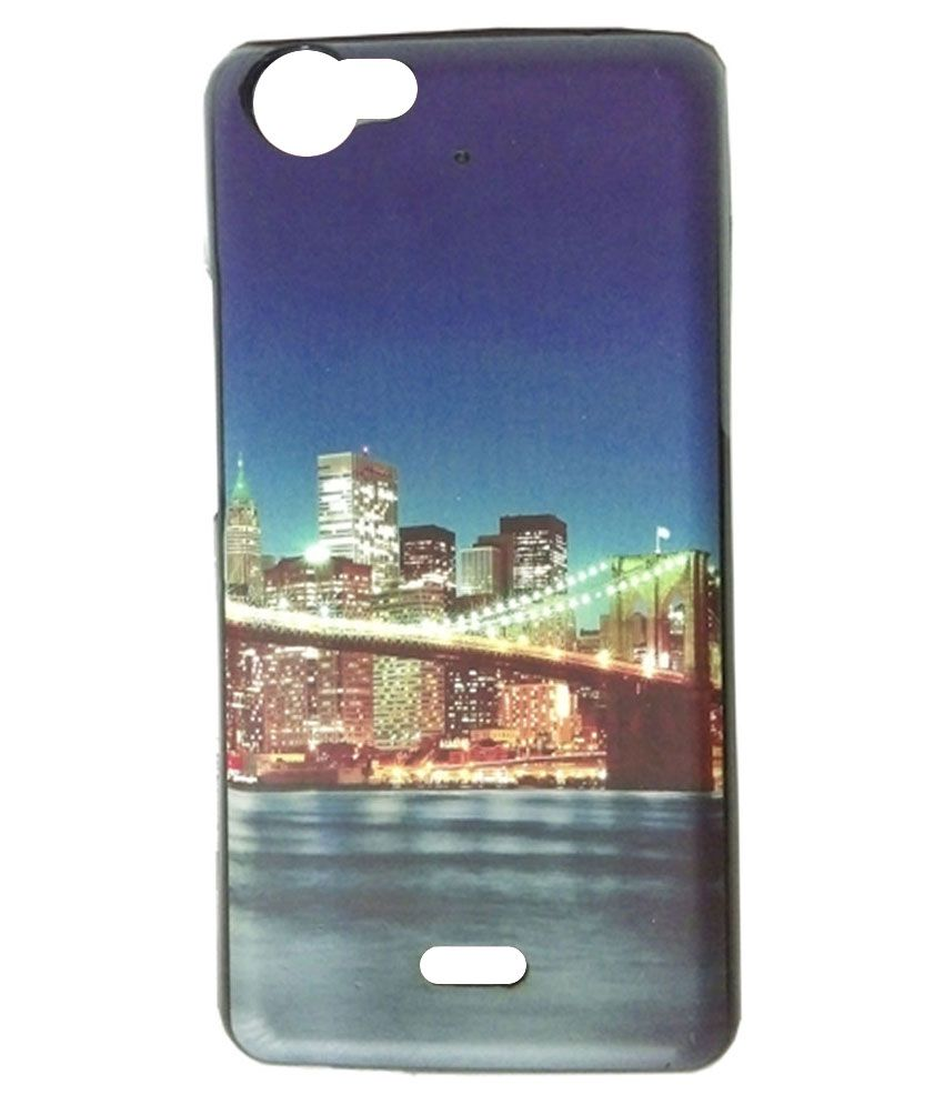 first rate 70617 52fa3 Ganesham Printed Back Cover for Micromax Bolt Q338 - Multicolour ...