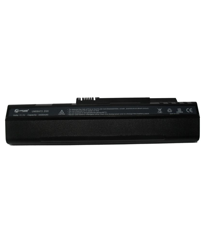 Lapcare Laptop Battery For Acer Aspire One 10.1 with actone mobile charging data cable