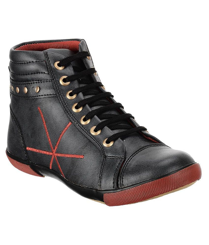 A-bachlar Black Lace Boots