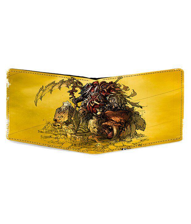 0f706872f2 Harshita enterprises Multicolor Red Dragon Leather Wallet Harshita  enterprises Multicolor Red Dragon Leather Wallet ...
